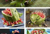 owoce - dekoracje
