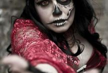 awesome halloween makeup / by Jessyka Heigert