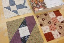 farmer's wife quilt / the farmer's wife quilt...inspired by the letters of farmer's wives...these blocks are gorgeous and this board will show how versatile they can be.