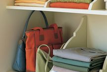 Home: upstairs linen closet / ideas for organizing the towels, medicines and cleaners / by Shannon Nelson