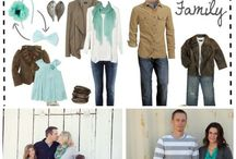 Family pictures / Outfit colors/ideas
