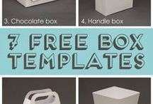 moldes de cajas