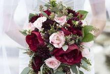 casamento rosa e marsala