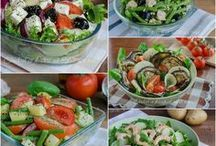 insalate  estive e piatti freddi
