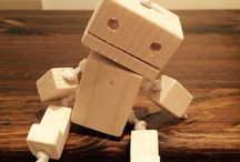 Robot Polly / Wood