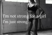 Strength=Beauty / by Kelsey Browning