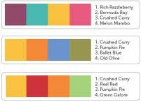 Stampin Up Colour Combinations
