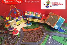 Les produits Melissa & Doug / Les produits Melissa & Doug sont disponibles chez La Boîte à Surprises de Nicolas, Boutique de Jouets  à St-Sauveur. Grand choix de jeux et jouets éducatifs de très bonne qualité. Principalement fait en bois, ils sont durables et sans danger pour nos petits et plus grands!!  Info@laboiteasurprisesdenicolas.ca 450-240-0007 Boutique jeux, jouets et passe-temps à St-Sauveur! Jeux et Jouets à vendre!