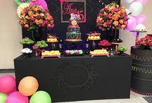 Festa neon party