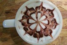 choco latte / Make choco latte art