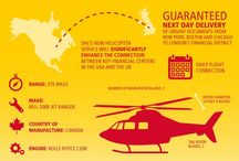 DHL Helicopters / Celebrating the launch of the DHL helicopter service, which offers guaranteed overnight delivery from NewYork, Chicago and Boston to Canary Wharf and central London.