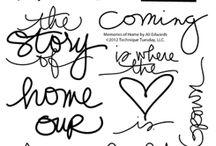 Scritte Home