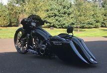 baggers motorcycle