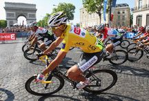 Tour de France Cycling Race / The worlds biggest bike race, the Tour de France featuring Alberto Contador, Lance Armstrong, Miguel Indurain and Chris Froome