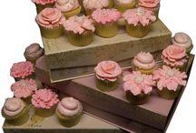Cupcakes   Chocolate Rose Cakes