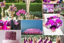 Ślubne inspiracje: RADIANT ORCHID - Kolor Roku 2014 / Radiant Orchid