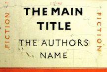 New Typography / c.1920 -c.1930