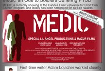 'MEDIC'- Multi- Award Nominated Film by Adam Lolacher / Medic follows a privileged and self-consumed young woman (Mylene Dinh-Robic) sentenced to community service who encounters a war veteran (Adam Lolacher) at a soup kitchen and realizes that she has the potential to support him on his road to wellness, while doing the same for herself.