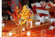Fall Centerpieces / Ideas for table centerpieces for Grandparents day