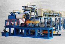 Sandwich panel machine / We specializing in the sandwich panel production line such as PU sandwich panel production line, EPS sandwich panel production line, Rockwool sandwich panel production line. We are one of the largest manufacturer of continuity sandwich panel production line in China, if any inquiry feel free contact with me.