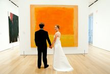 Art Museum Weddings / We love seeing how brides incorporate art and gallery spaces on their wedding day! Visit okcmoa.com/galleries to see how it's done at OKCMOA!