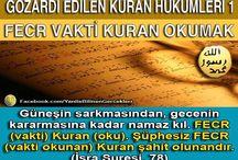 Gözardı Edilen Kuran Hükümleri / Gözardı Edilen Kuran Hükümleri