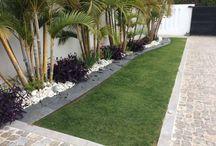 Diseño de jardín moderno
