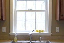 Kitchen window / by Kirsten Gardzelewski