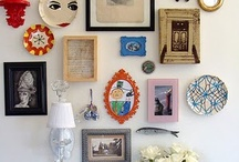 art wall / by Lori Siebert
