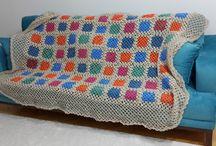 örgü battaniye / örgü battaniye