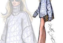 Fashion Sketch #TLseries / #TataLevine's Series