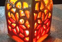 Savi lyhty - Clay lantern