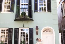 Houses with shutters / by Peggy Parker