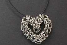 Chainmaille heart