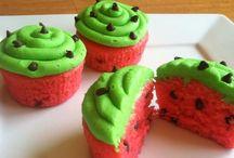 Cupcakes, bolachas e doces