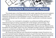 Architecture statement of purpose sample / Architecture personal statements can be challenging. personal knowledge and the fire to get admission in PG course. Pg course  in xxx university citing reason to joining masters course.