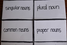 Grammar - Nouns / Ideas and inspiration for teaching nouns.