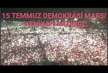15 temmuz demokrasi marşı  july the 15th democracy march