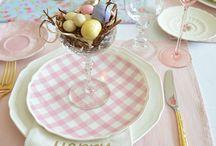 Jídelní stůl dekorace
