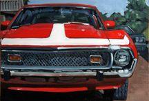 Paintings: Cars