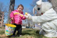 Easter Egg Hunts + Easter Events