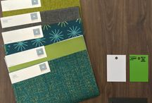 Color Palettes created from our Standard Finishes and Select Fabric Offerings