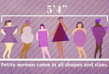 Mode voor kleine vrouwen