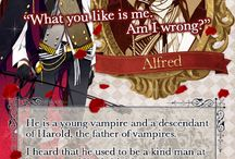 Shall we date? Blood in roses+ - Alfred
