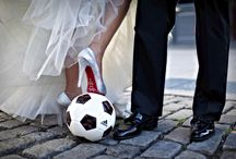 Soccer wedding / Идеи для футбольной свадьбы