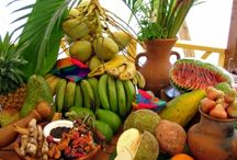 Grenada Produce / #Grenada #GND #PureGrenada #PureParadise #SpiceIsland @GrenadaBnB #GrenadaBnBLife #Paradise #TikiTime #SeaTurtles #Surf #Scuba #Snorkel #Sail #WaterFalls #Hike #Bike #Rainforest #Beaches #Mango #Coconut #Rum #RumPunch #Caribbean #Travel #Beaches #Dining #Liming