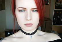Triss Marigold cosplay (Witcher) / #triss #marigold #cosplay #makeup #witcher #witcher3
