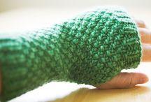 Knitting Handwarmers/Mitts