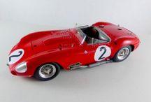model Kit car in 1/24 scale