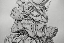 Gunpla_Sketches / Gaudam